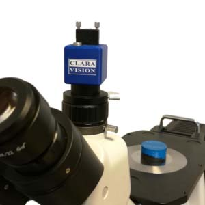 Caméra numérique pour microscope Clara Vision CV3-5