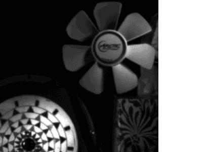 La même image fixe, réalisée avec la Fastec IL5, obturation de 60 microsecondes