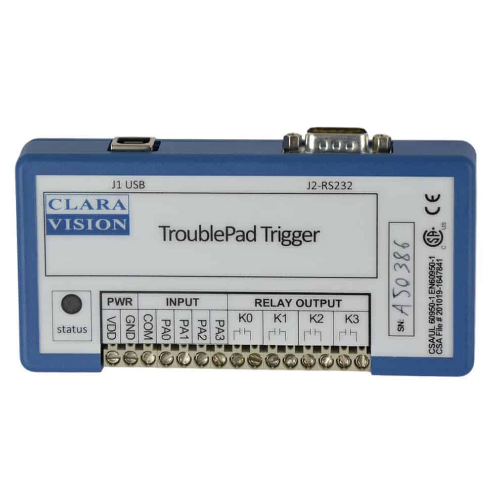 trigger box high speed camera TroublePad