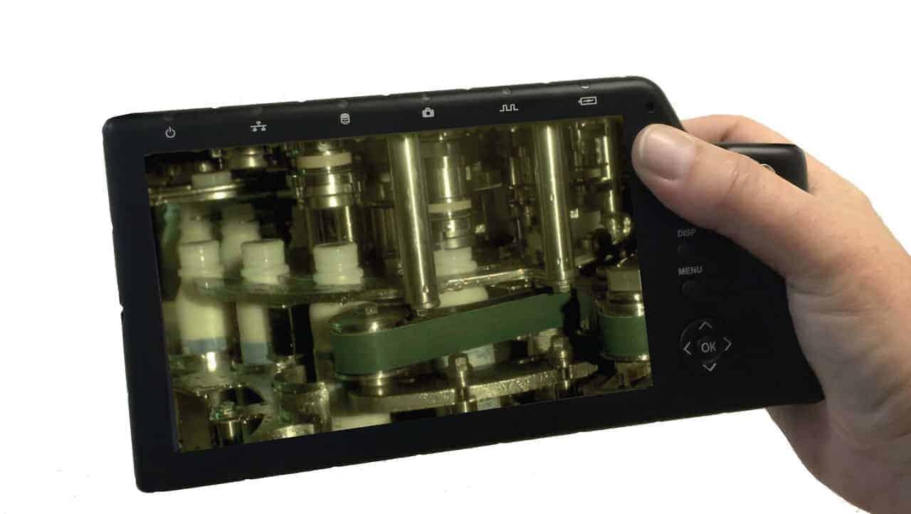 high speed camera fastec imaging TS5 bottling