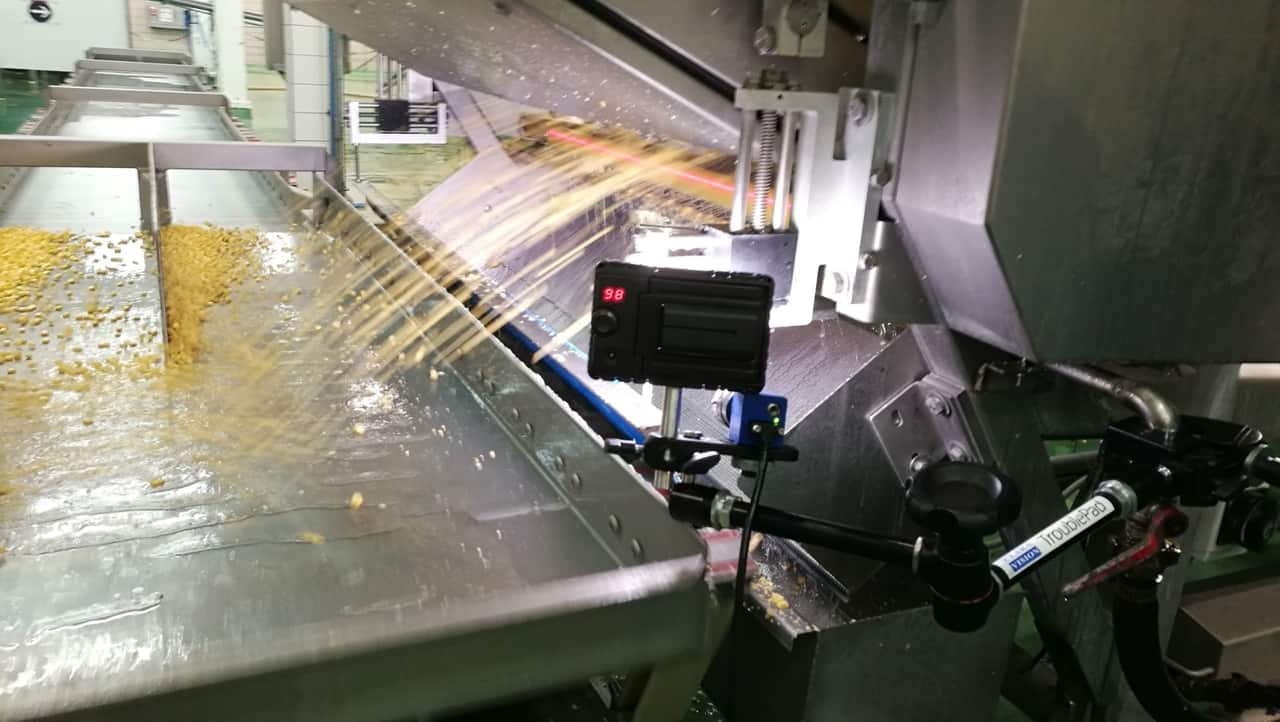 high speed camera in the food industry