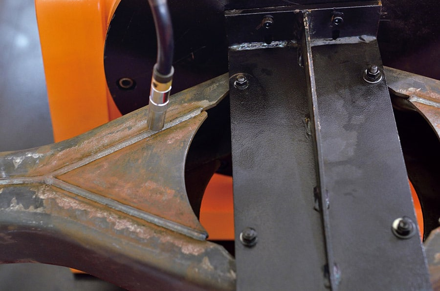 chassis soude welded